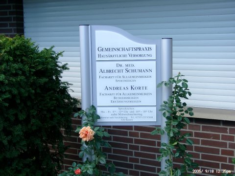 Andreas Korte, Facharzt für Allgemeinmedizin in Petershagen