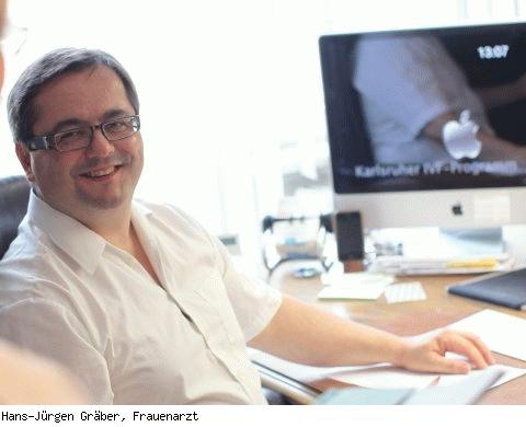 Hans-Jürgen Gräber, Facharzt für Frauenheilkunde und Geburtshilfe in Karlsruhe