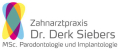 Herr Dr. Derk Siebers M. Sc. in Oral Implantology, Zahnarzt in Berlin-Charlottenburg