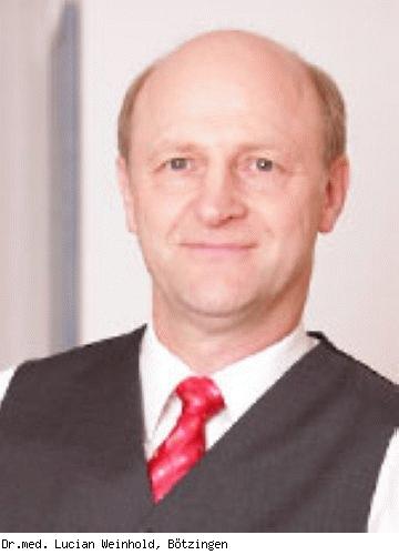 Lucian Weinhold, Facharzt für Allgemeinmedizin, Facharzt für Anästhesiologie in Eisenach