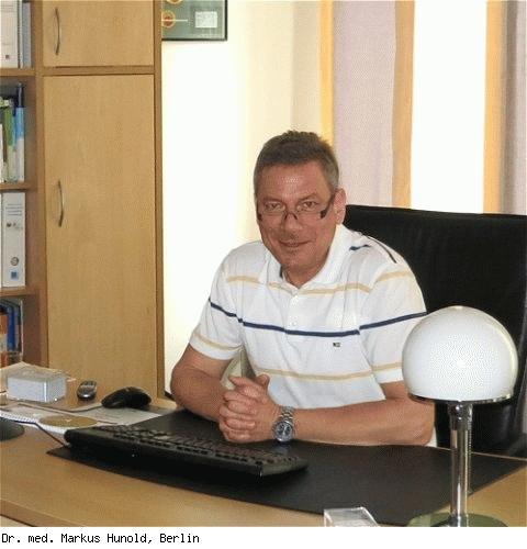 Markus Hunold, Facharzt für Frauenheilkunde und Geburtshilfe in Berlin