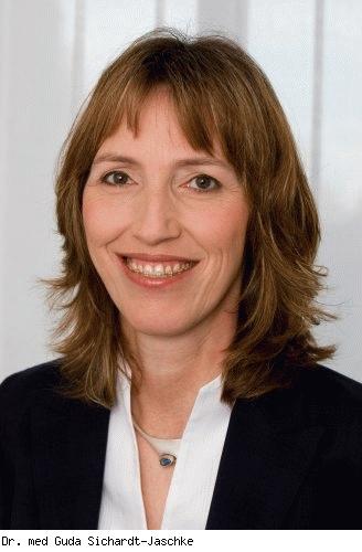 Guda Sichardt-Jaschke, Fachärztin für Allgemeinchirurgie, Fachärztin für Orthopädie und Unfallchirurgie in Fürth