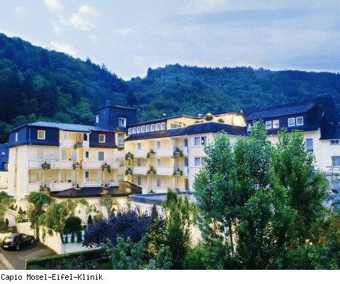 Capio Mosel-Eifel-Klinik, Fachklinik für Venenerkrankungen und Rezidiv-Operationen in Bad Bertrich