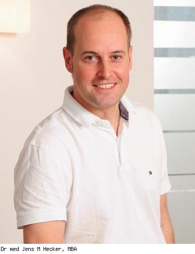 Jens M. Hecker, Facharzt für Chirurgie, Facharzt für Viszeralchirurgie in Heidelberg