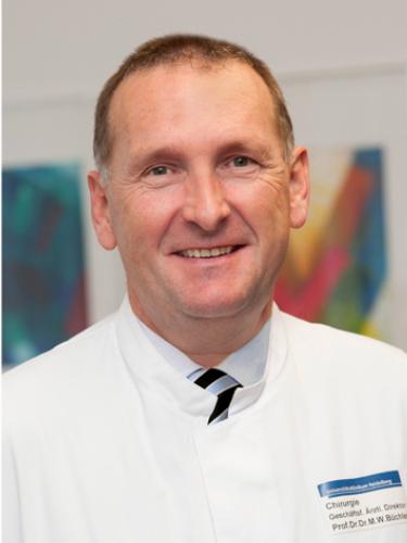 Markus W. Büchler, Facharzt für Allgemeinchirurgie, Facharzt für Viszeralchirurgie in Heidelberg
