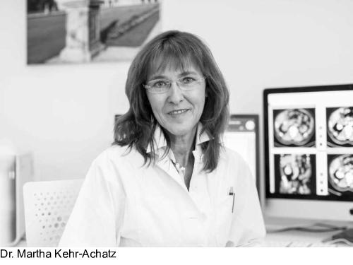 Martha Kehr-Achatz, Fachärztin für Diagnostische Radiologie in München