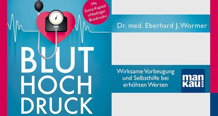 Dr. Eberhard J. Wormer erklärt in seinem Ratgeber wie Bluthochdruck entsteht und welche Maßnahmen zur Vorbeuge und Selbsthilfe wirksam sind.