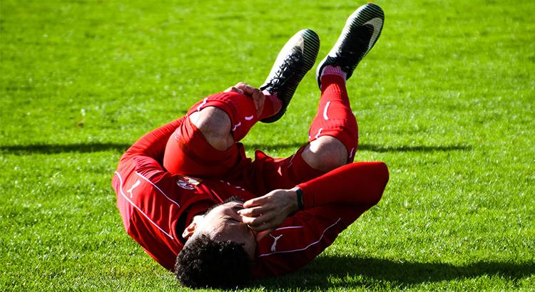 Fußball, Spieler, Bein, Vade