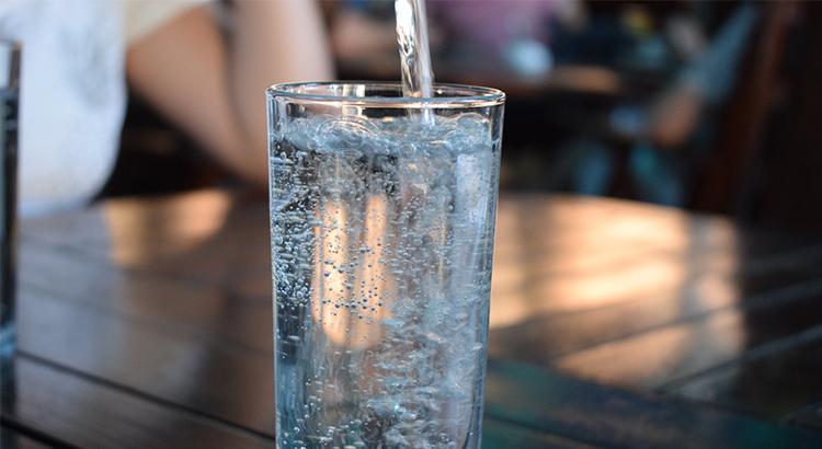 Wasserglas, Glas, Wasser