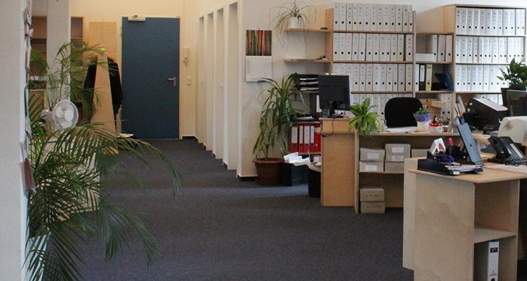 Büroräume der Stiftung Gesundheit