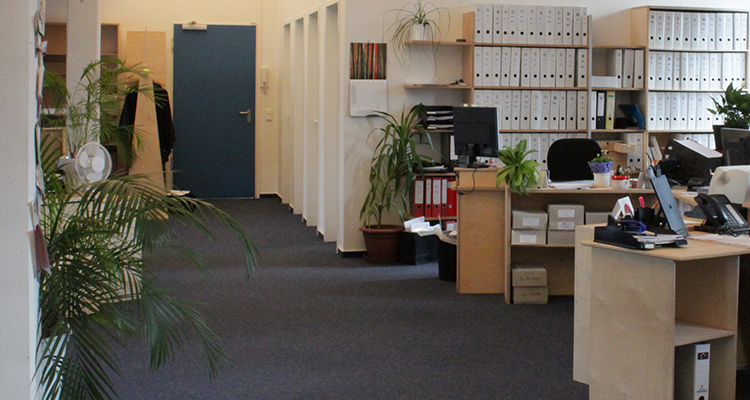 Büroräume.