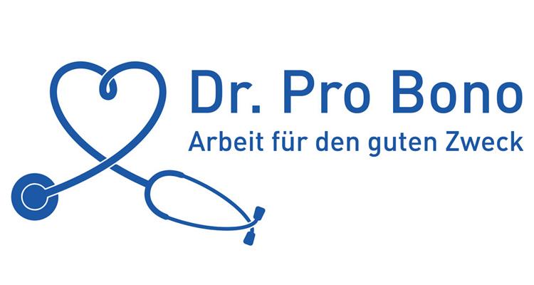 Logo: Dr. Pro Bono - Arbeit für den guten Zweck.