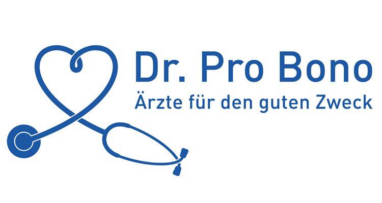 Logo: Dr. Pro Bono - Ärzte für den guten Zweck.