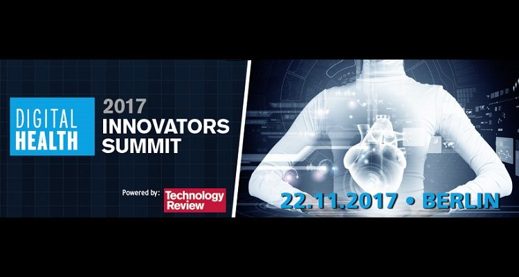 Plakat mit Informationen zum Innovators Summit Digital Health 2017