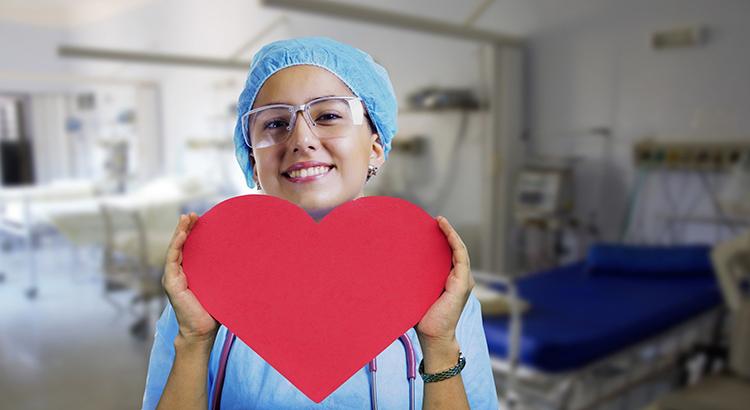 Schwester, Herz, Krankenzimmer