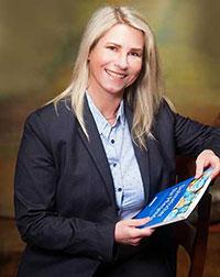 Maren Lach, Pflegedienstleiterin und Buchautorin