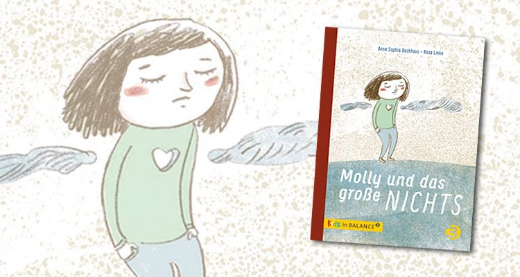 Buchcover: Trauriges Mädchen mit herzförmigem Loch in der Brust.