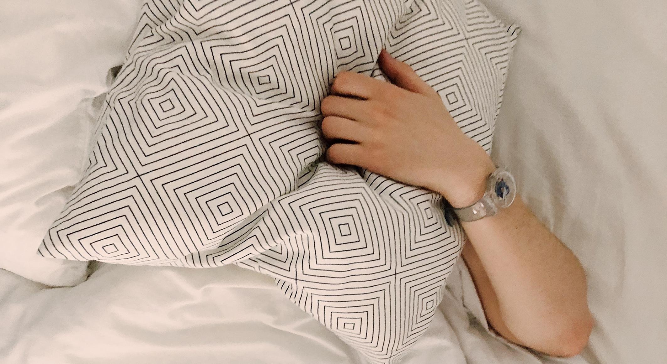Schlaf-Bett-Kissen