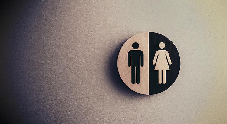 WC, Damen, Herren