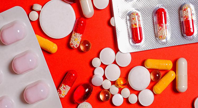 Tabletten-Medizin