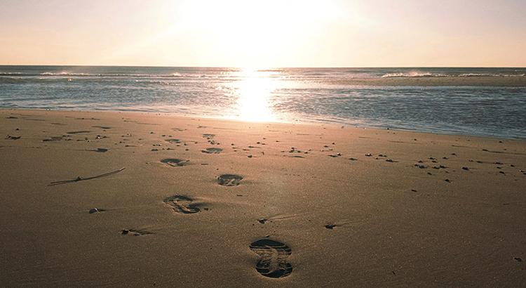 Fußspuren im Sand, Reha, Klinik